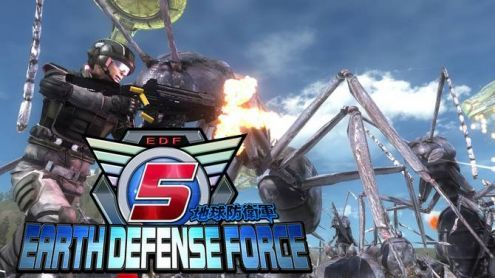 TEST d'Earth Defense Force 5 : Un massacre d'insectes dans les règles de l'art