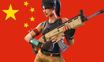 Fortnite:  Tencent lance le jeu en Chine !