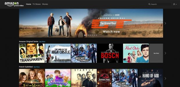 Amazon Channels:  les chaînes payantes débarquent sur Prime Video en France