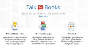 Google Talk books : l'IA au service de la littérature