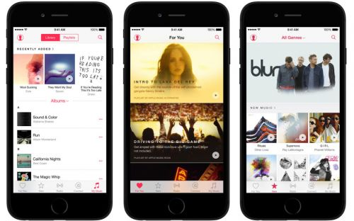 Apple ferme le réseau social d'Apple Music