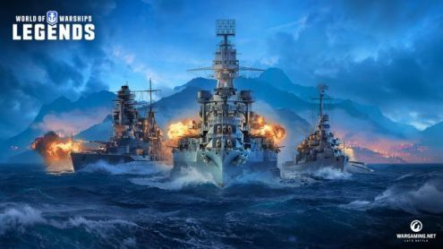 World of Warships aussi sur PS4 et Xbox One avec la version Legends