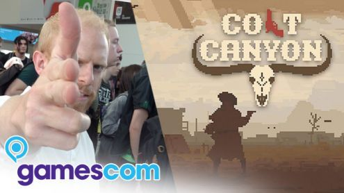 Gamescom 2019:  On a joué à Colt Canyon, véritable Hotline Miami en plein Far West