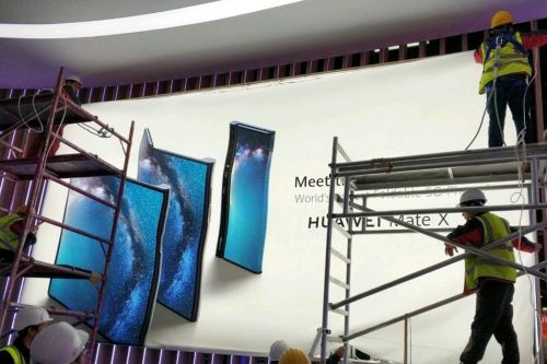 MWC 2019:  Huawei lance son premier smartphone pliable 5G, le Mate X